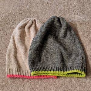 Old Navy beanies set of 2